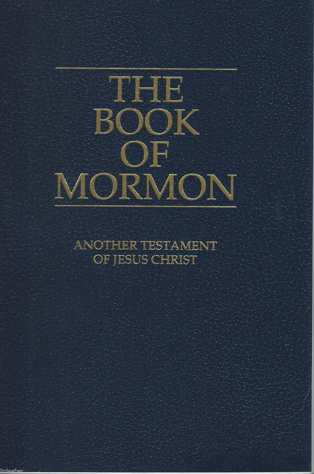THE BOOK OF MORMON ANOTHER TESTAMENT OF JESUS CHRIST 1981 SC 2000 Print MINT
