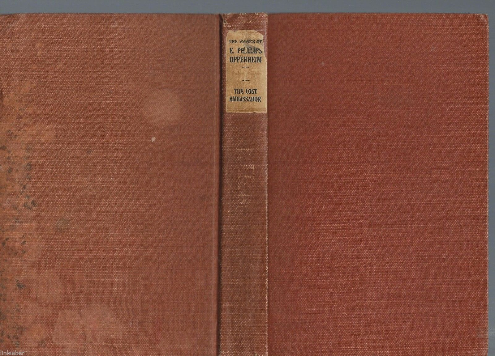 The Lost Ambassador-E.Phillips Oppenheim,1920 Review of Review Co.;©1910;Mystery