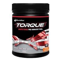 MuscleBlaze Torque Pre-Workout (30 Servings), 1.4 lb Orange image 1
