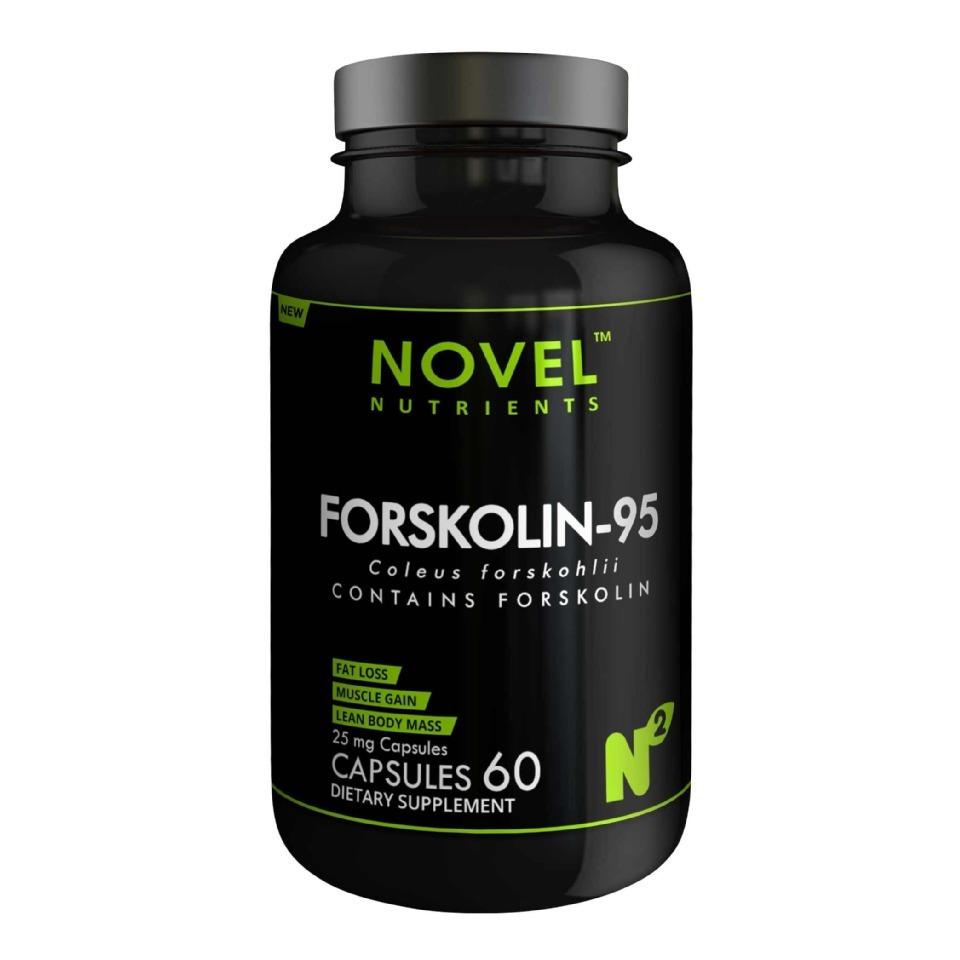 Novel nutrients forskolin 95  25mg   60 capsules