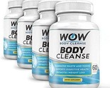 Wow body cleanse pack of 4  60 veggie capsule s  thumb155 crop