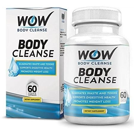 Wow body cleanse  60 veggie capsule s