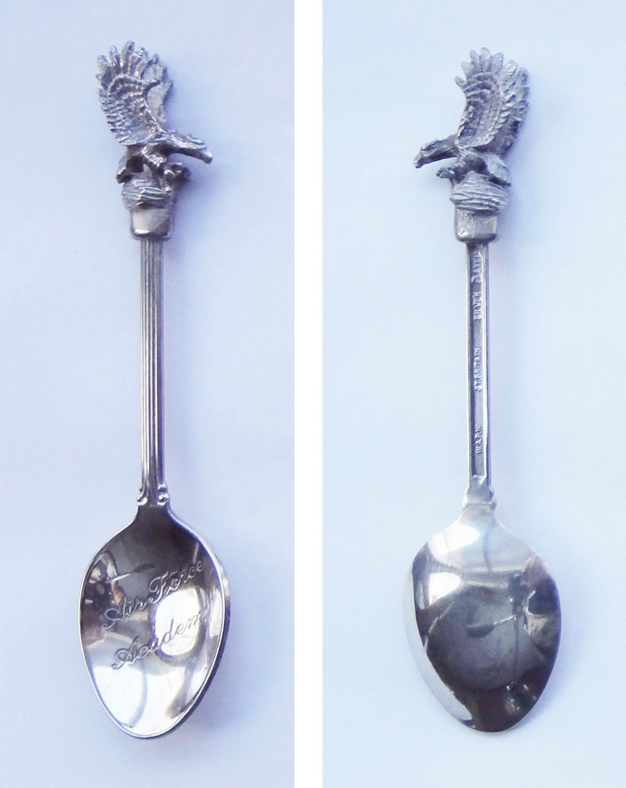 Collector Souvenir Spoon USA Colorado Springs Air Force Academy Eagle