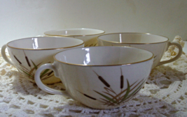 Set of four Vintage LENOX CATTAIL Tea Cups - $12.00