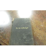 1884 DANISH BOOK BY J.C. RYLE  - $99.00