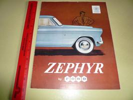 English Ford Zephyr Sales Brochure - Vintage Li... - $14.22