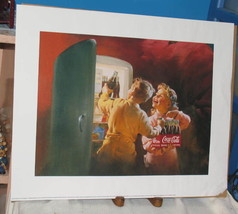 1995 COKE COCA-COLA ADVERTISEMENT ART PRINT POSTER 16 x 20 O.S.P. Publis... - $16.34