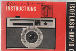 """ISO Flash  Rapid C / Camera  3""""X4"""" Booklet TYP 2413 - $5.00"""