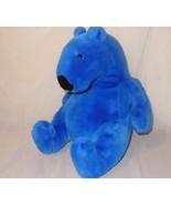 "Blue Plush Stuffed Bear 14"" Animal Polar - $29.46"