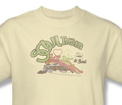 Soul Train T shirt TV series vintage distressed 70's 80's cotton graphic tee