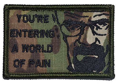 You're Entering A World of Pain, Walter White - 2x3 Morale Patch - Multicam