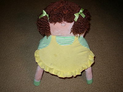 Handcrafted, Figural Girl, 15in x 12in Toddler's Chair