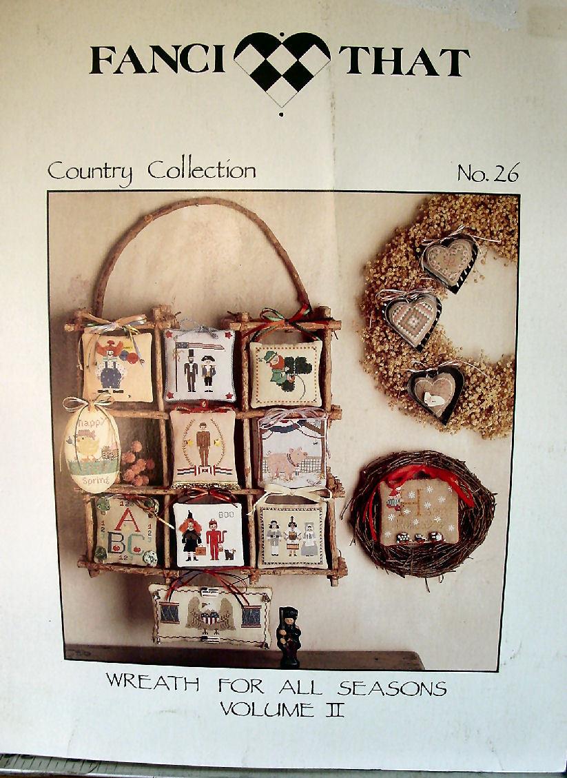 Cross Stitch Pattern Wreath for All Seasons Vol II