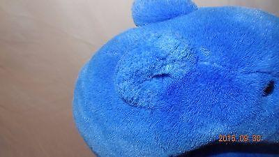 "Blue Plush Stuffed Bear 14"" Animal Polar"