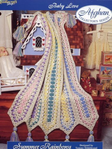 Summer Rainbows Afghan TNS Baby Love Crochet Pattern - 30 Days to Shop & Pay!