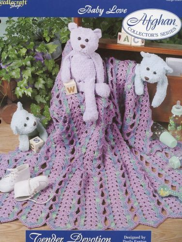 Tender Devotion Afghan TNS Baby Love Crochet Pattern - 30 Days to Shop & Pay!