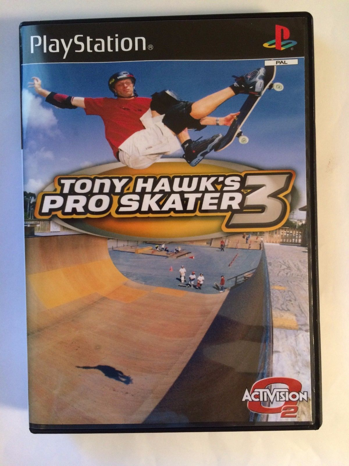 Tony Hawk's Pro Skater 3 - Playstation - Replacement Case - No Game