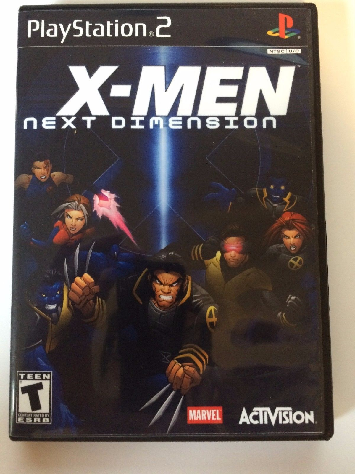 X-Men Next Dimension - Playstation 2 - Replacement Case - No Game