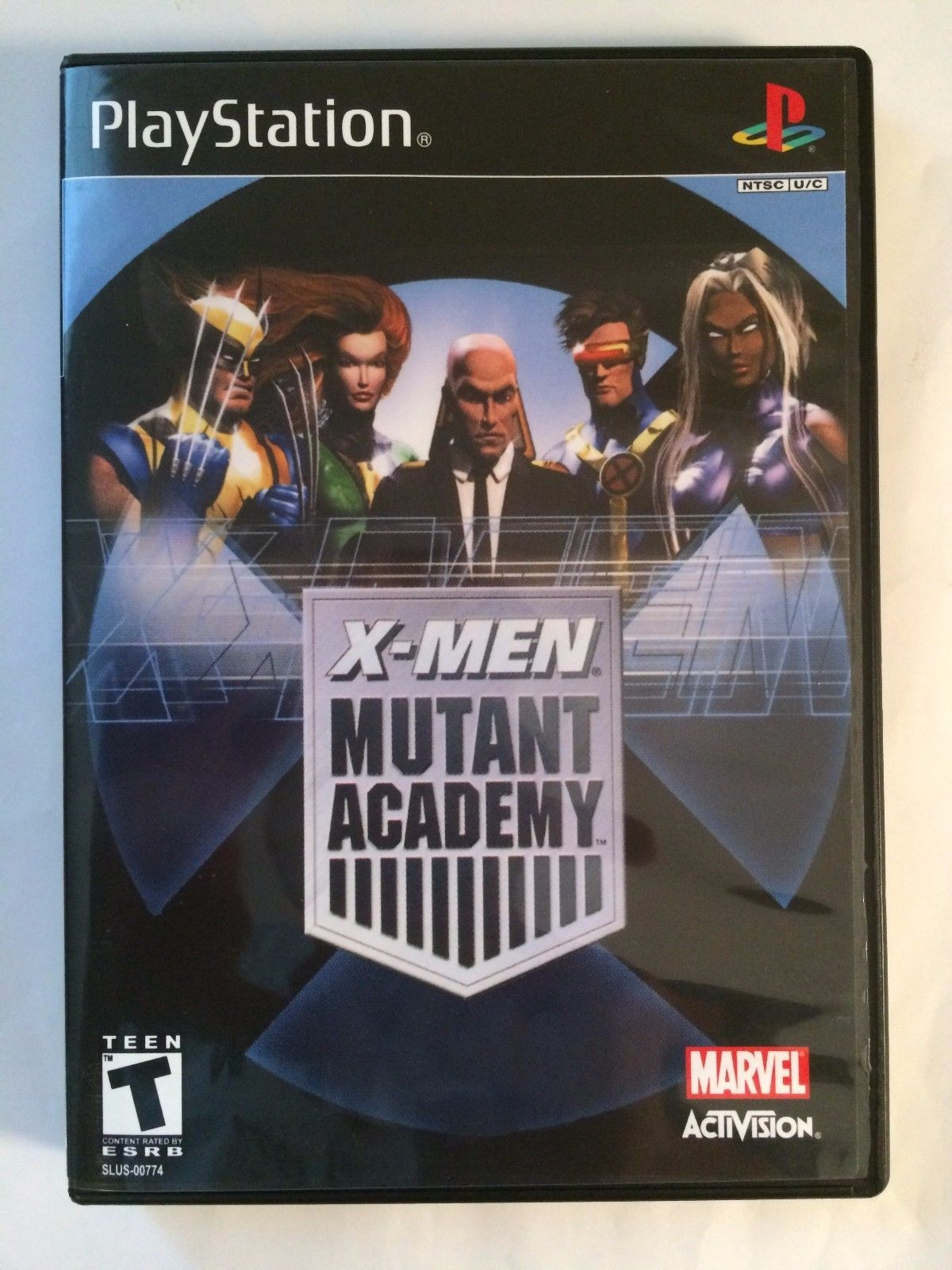 X-Men Mutant Academy - Playstation - Replacement Case - No Game