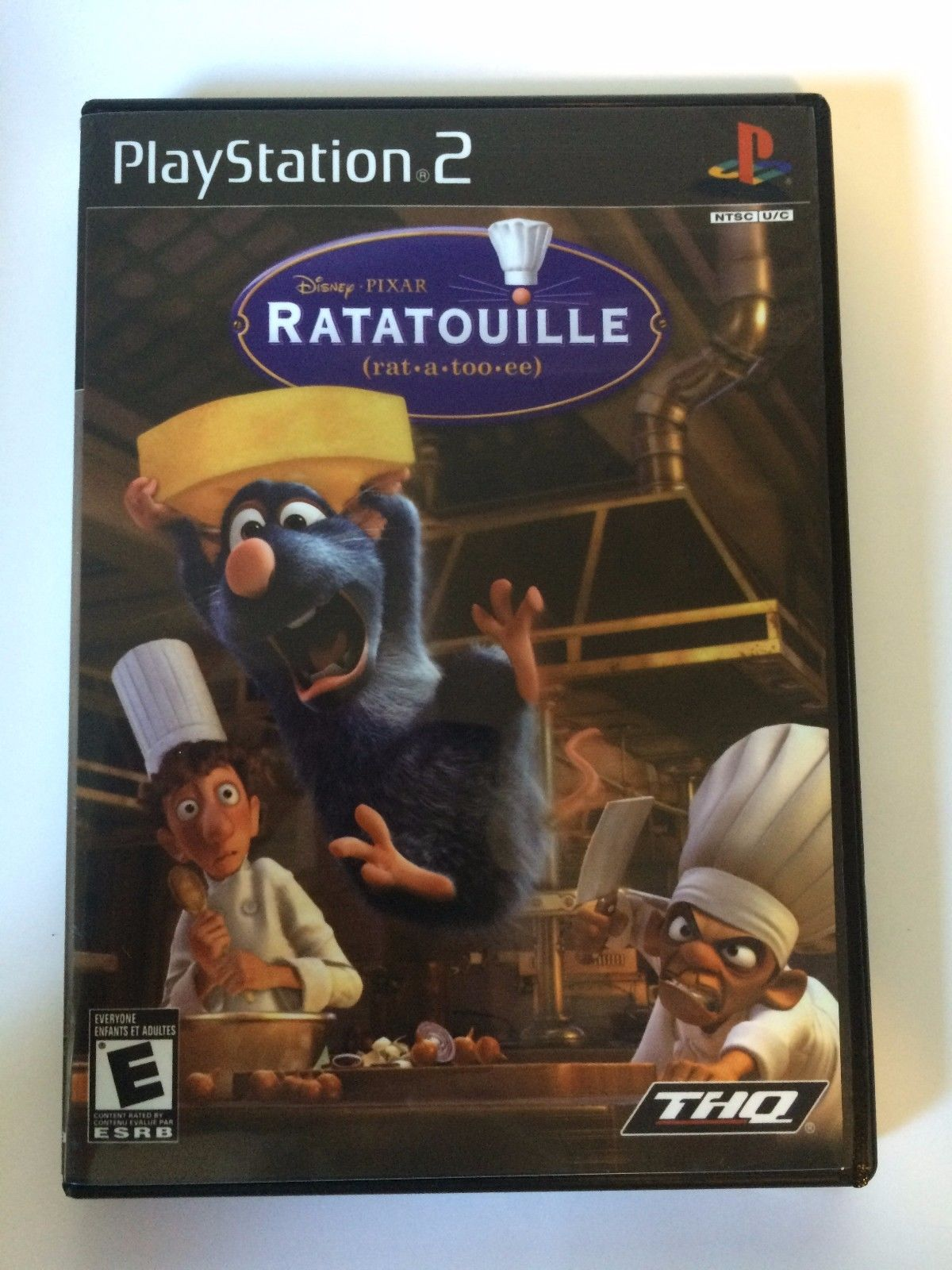 Ratatouille - Playstation 2 - Replacement Case - No Game