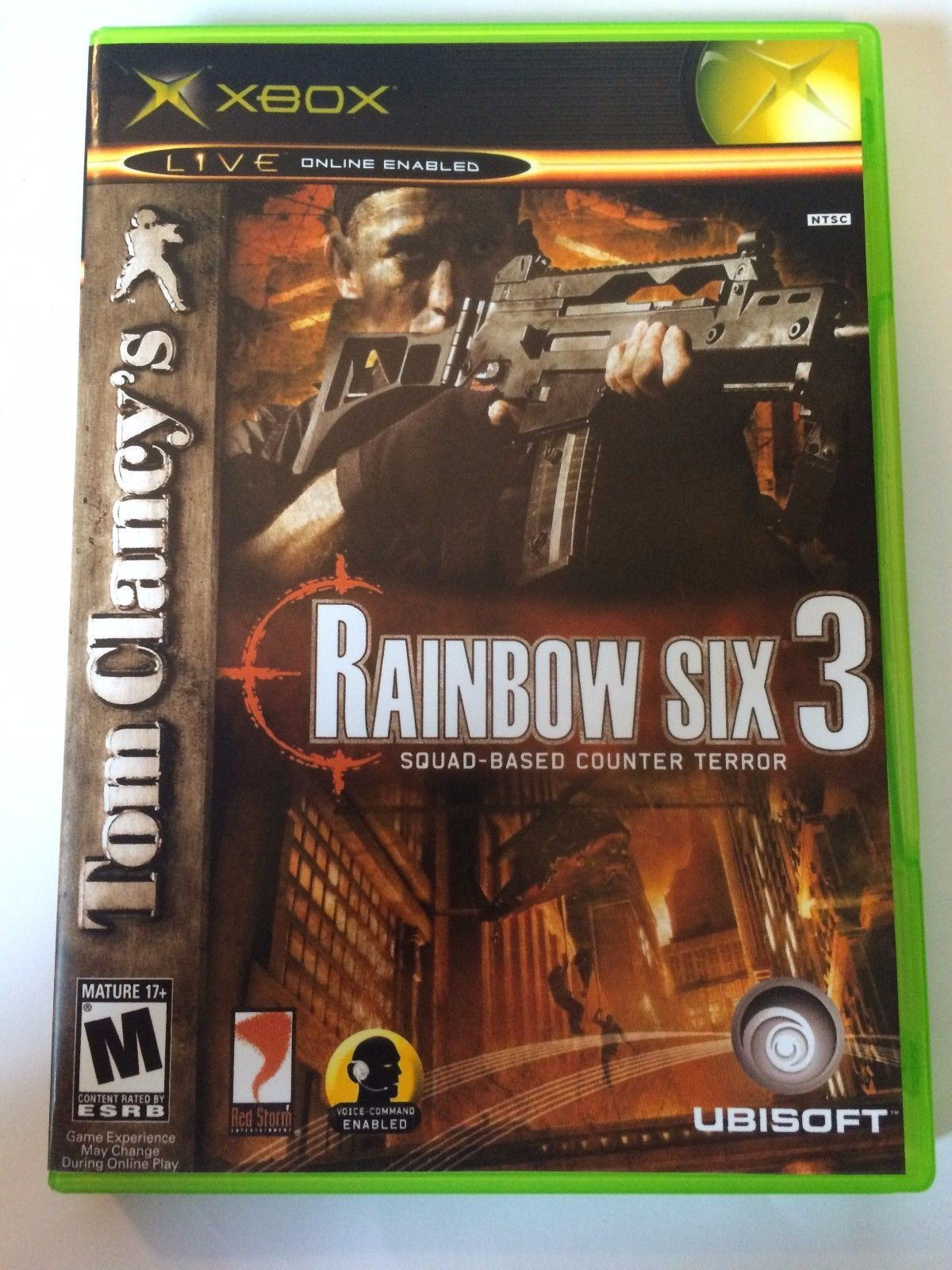 Rainbow Six 3 - Xbox - Replacement Case - No Game