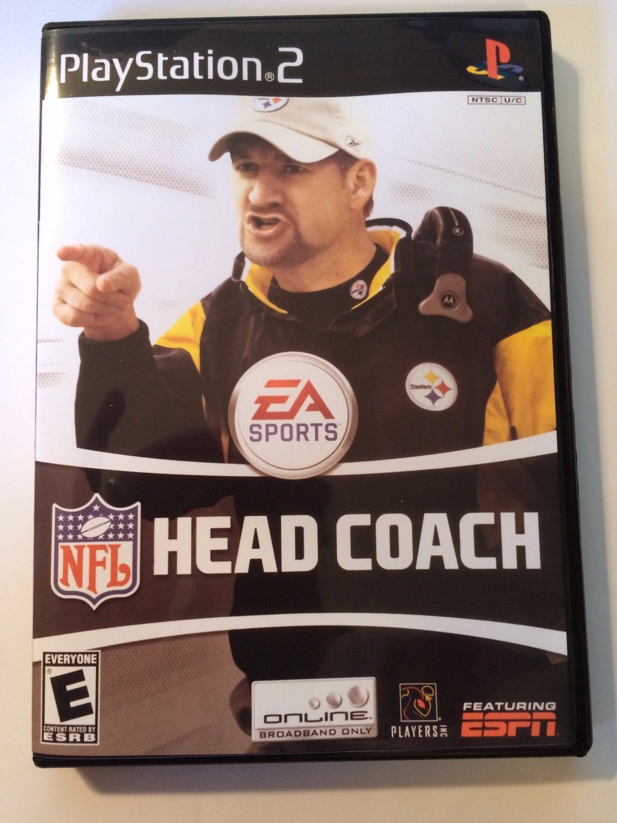 NFL Head Coach - Playstation 2 - Replacement Case - No Game