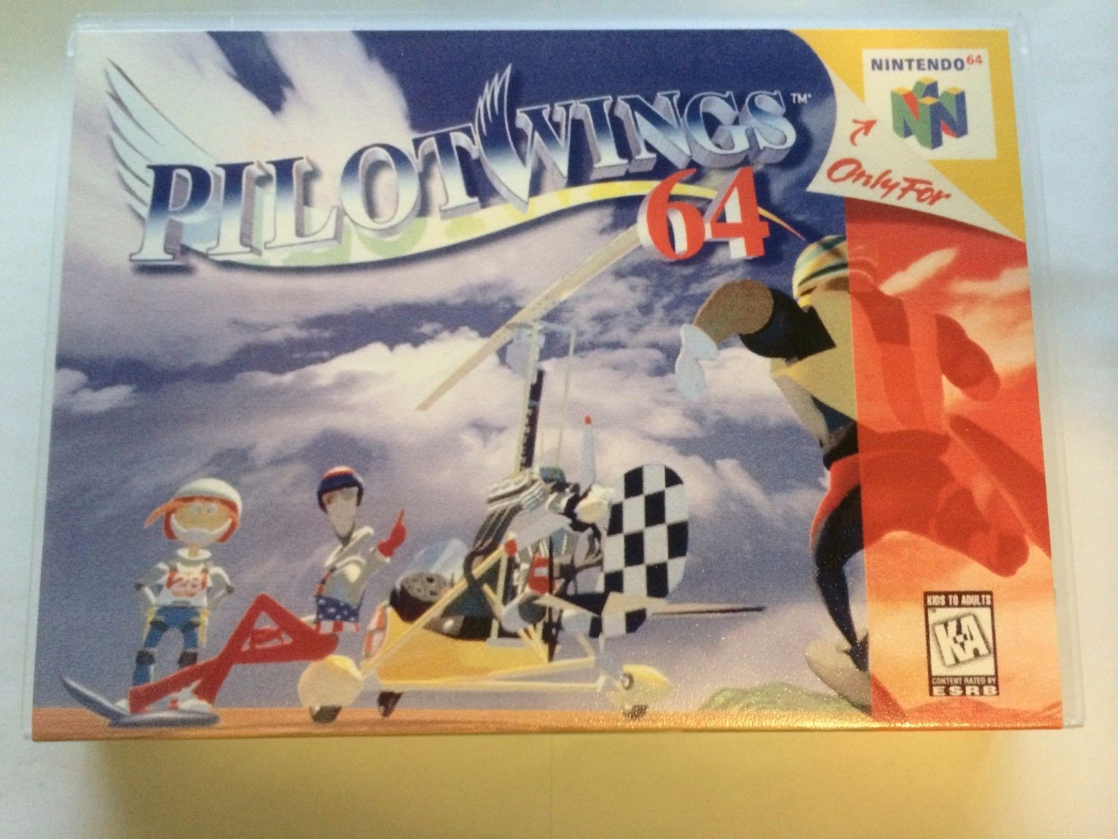 Pilotwings 64 - Nintendo 64 - Replacement Case - No Game