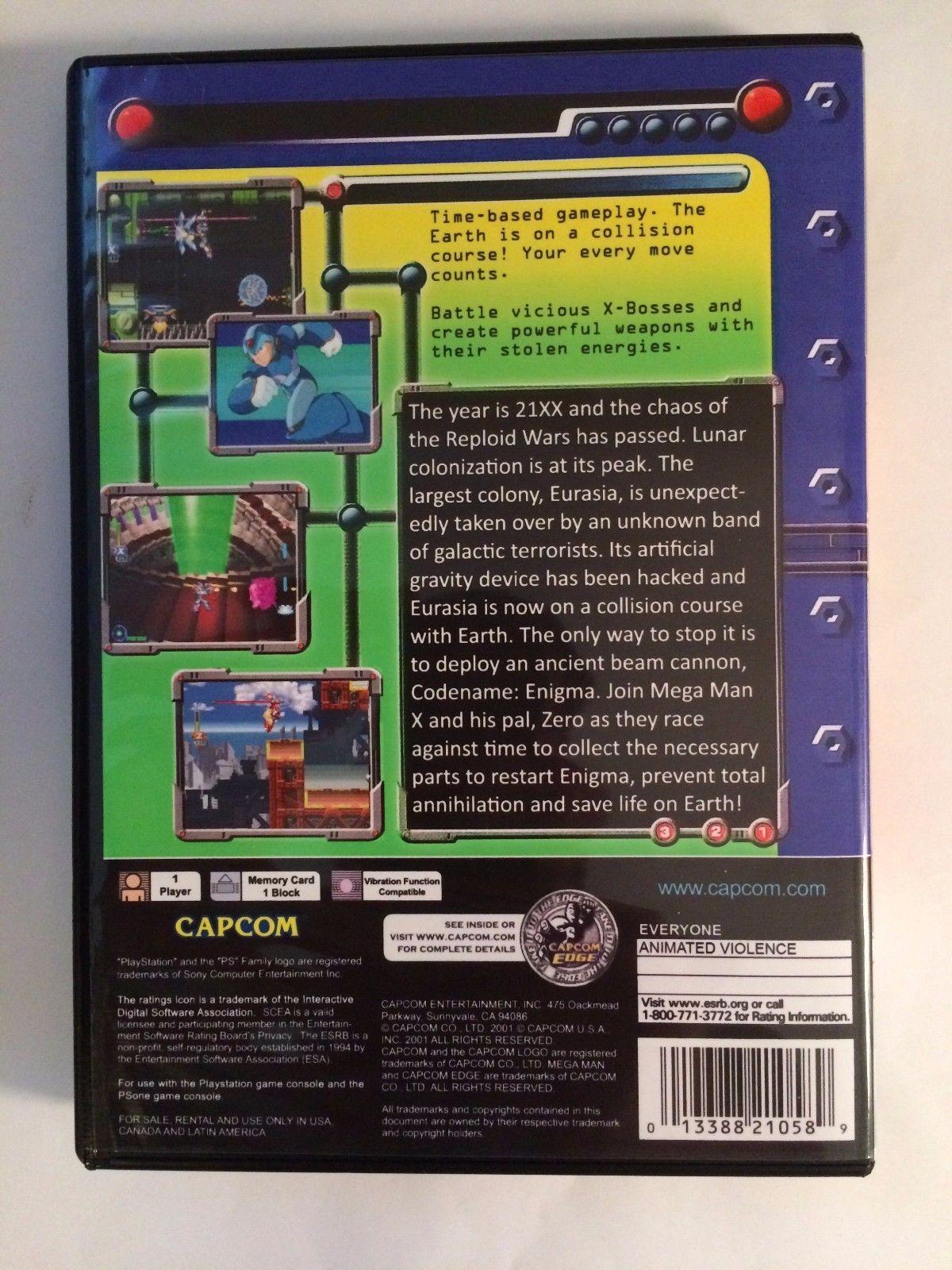 Mega Man X5 - Playstation - Replacement Case - No Game