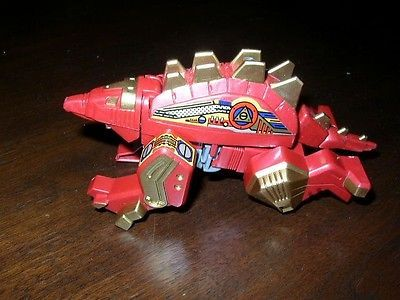 Red and Gold 6in Alligator Robot-Transformer
