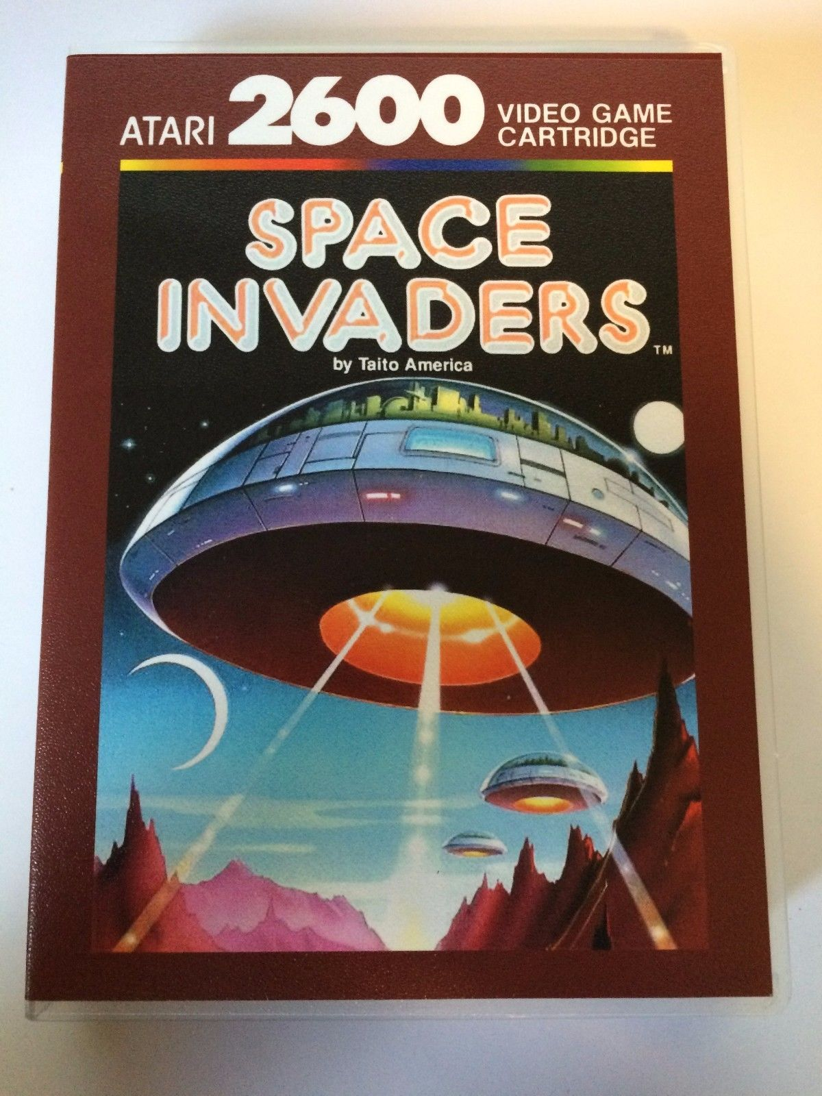 Space Invaders - Atari 2600 - Replacement Case - No Game