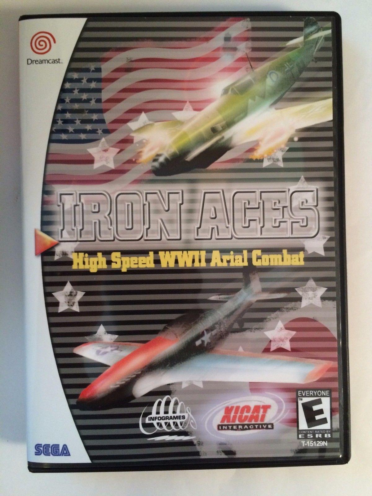 Iron Aces - Sega Dreamcast - Replacement Case - No Game