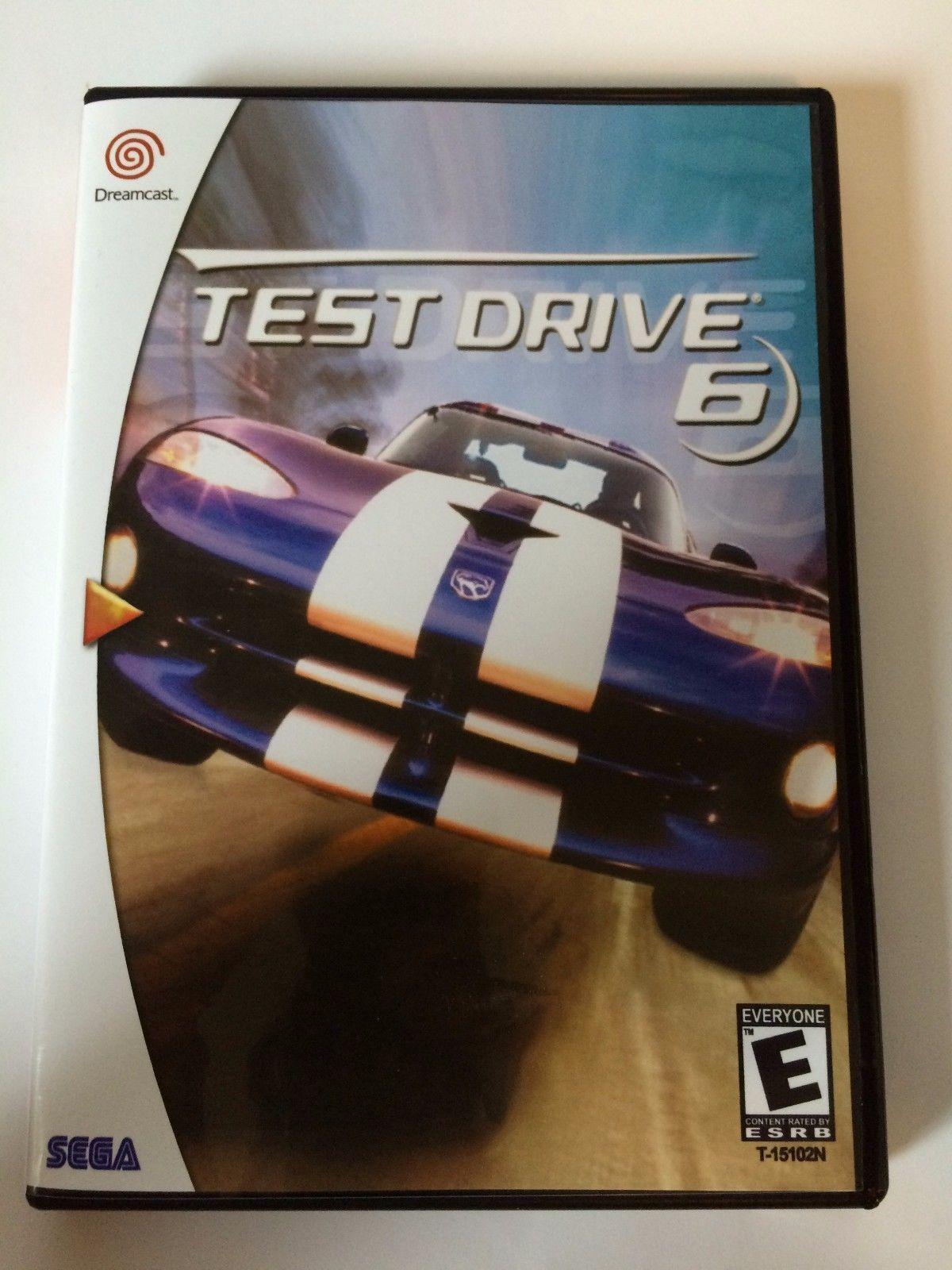 Test Drive 6 - Sega Dreamcast - Replacement Case - No Game