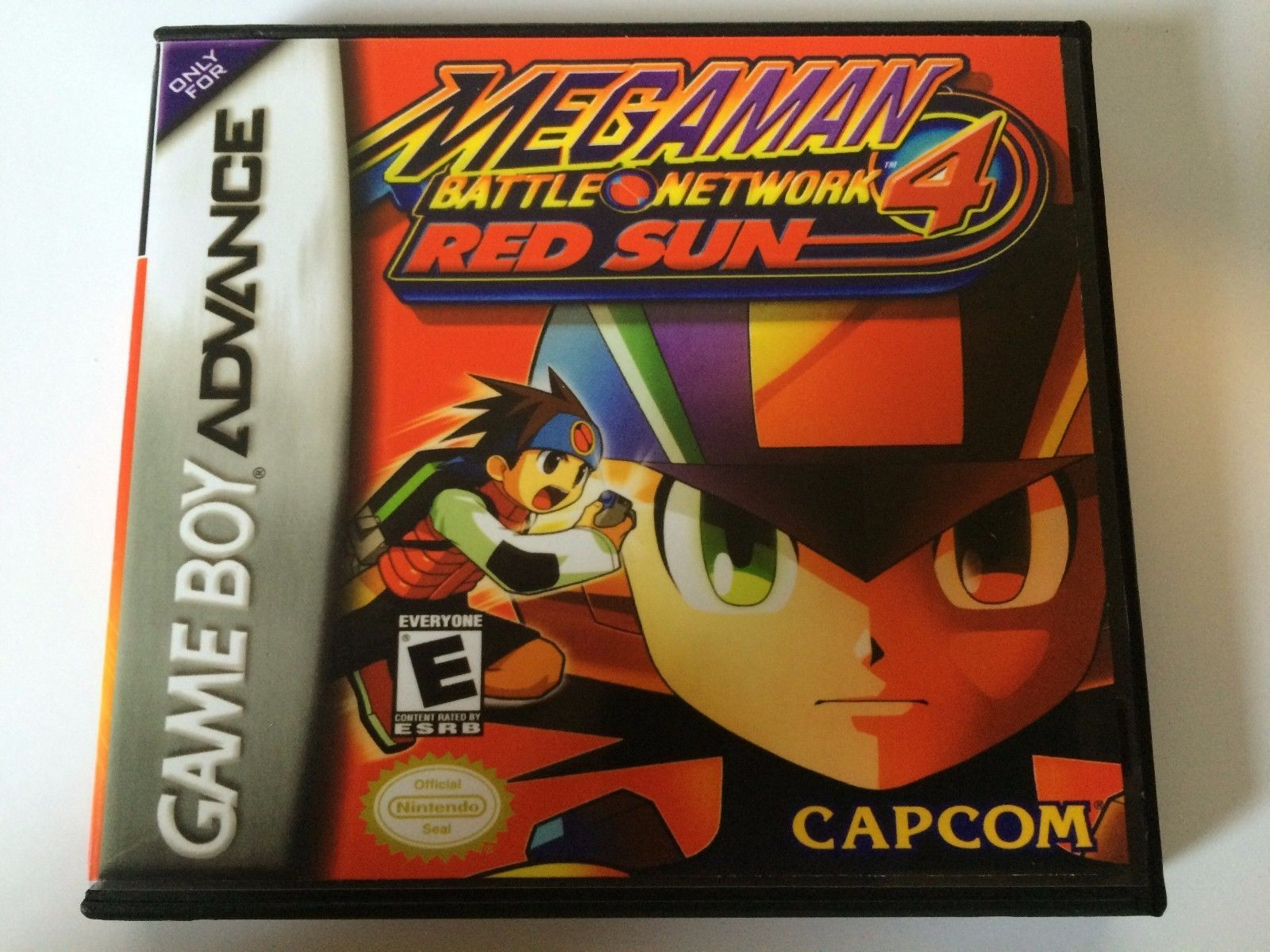 Megaman Battle Network 4 Red Sun - GBA - Replacement Case - No Game