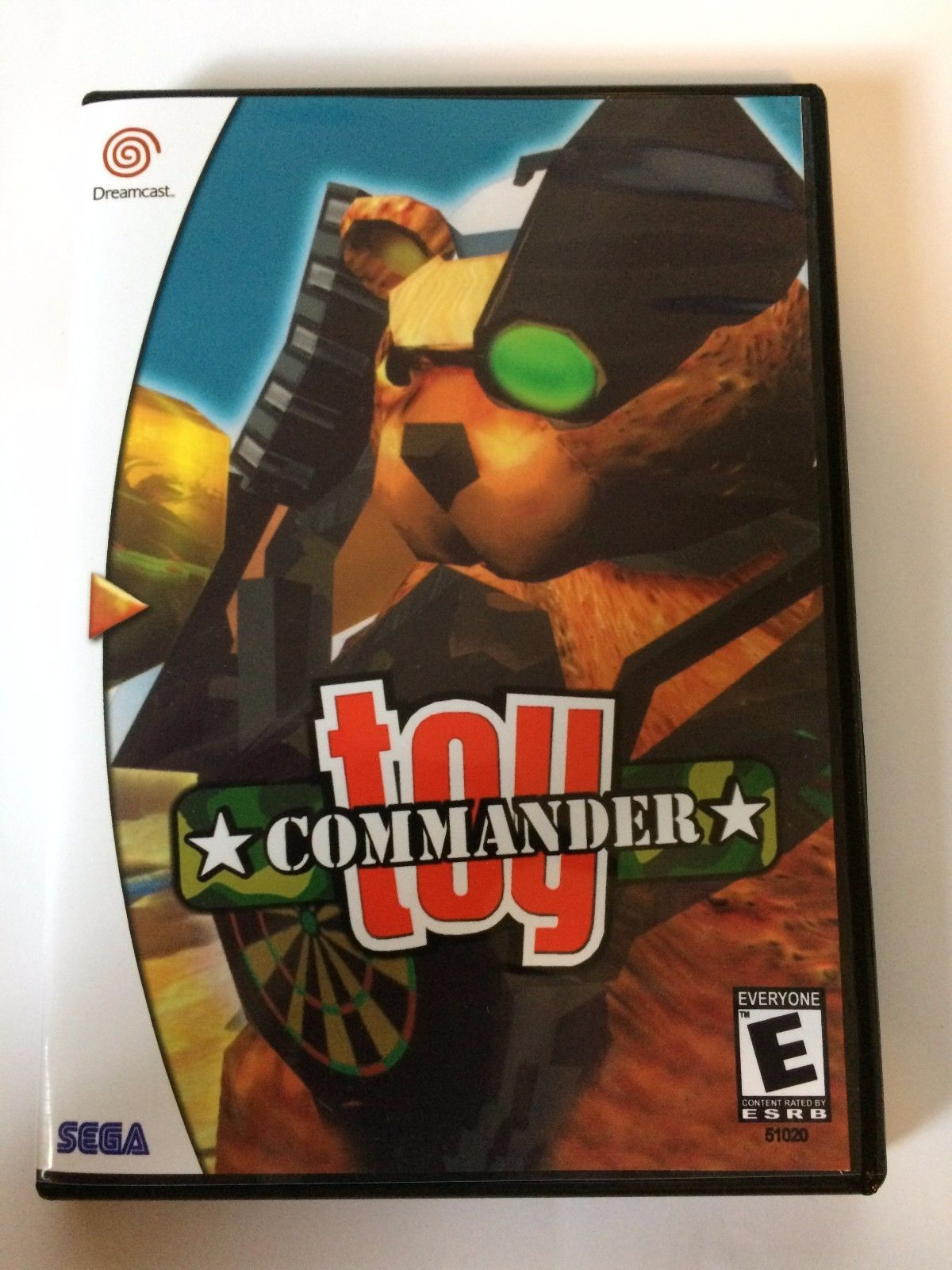 Toy Commander - Sega Dreamcast - Replacement Case - No Game