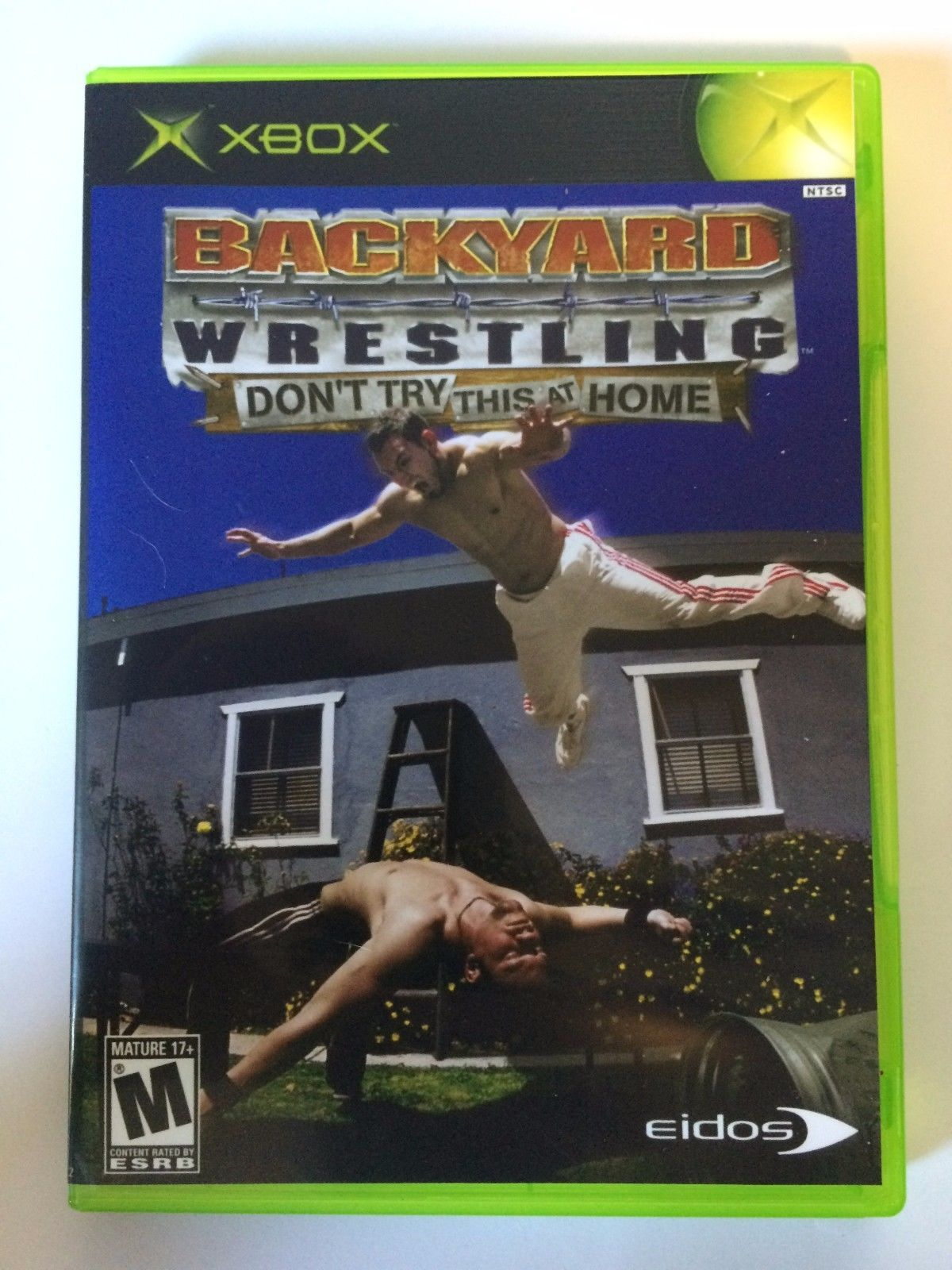 Backyard Wrestling - Xbox - Replacement Case - No Game