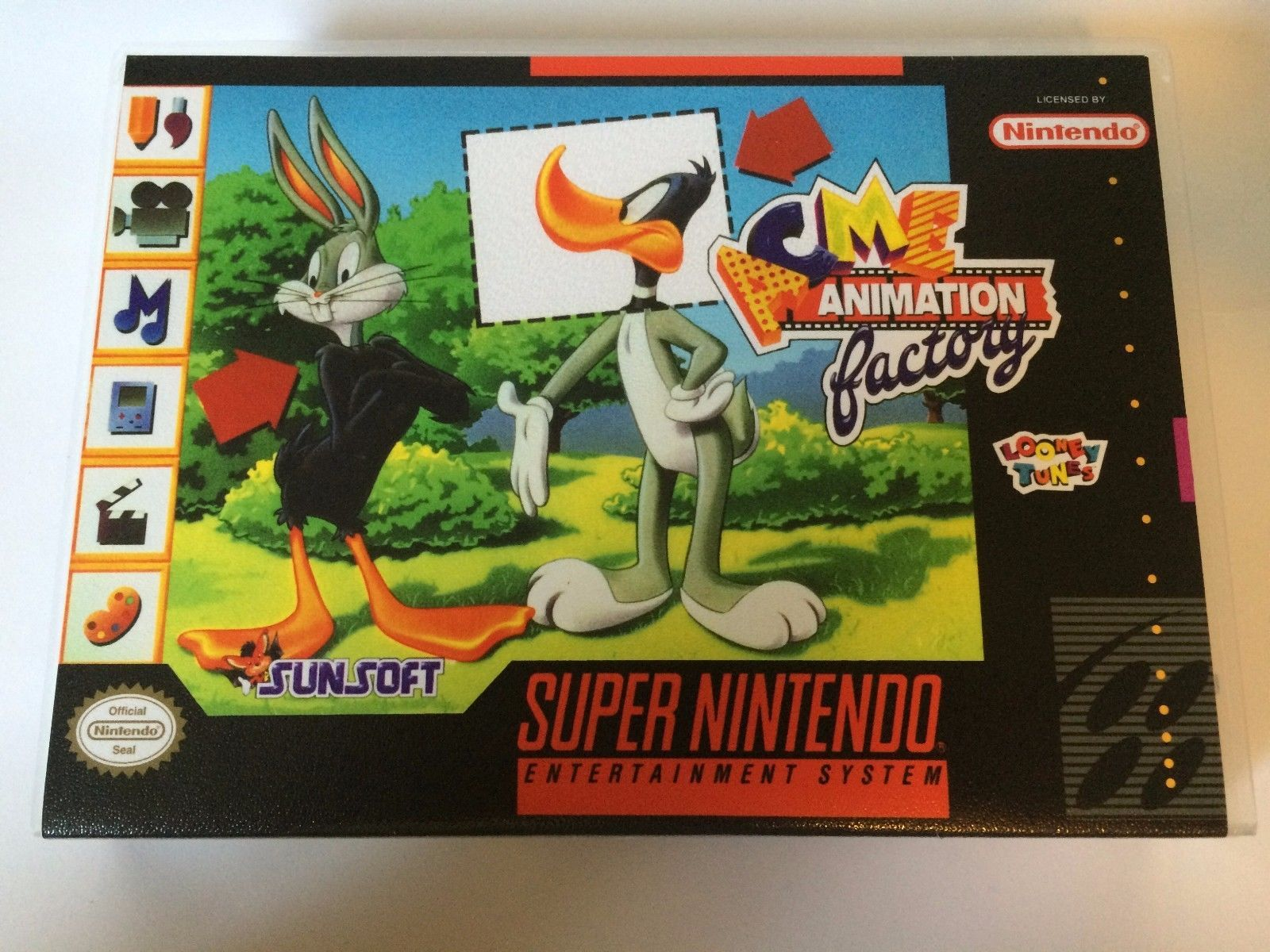 Acme Animation Factory - Super Nintendo - Replacement Case - No Game