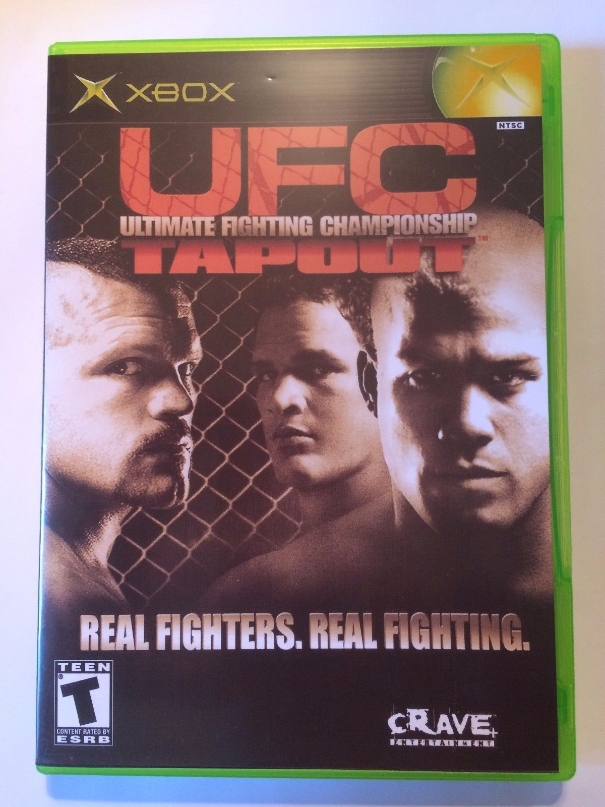 UFC Tapout - Xbox - Replacement Case - No Game