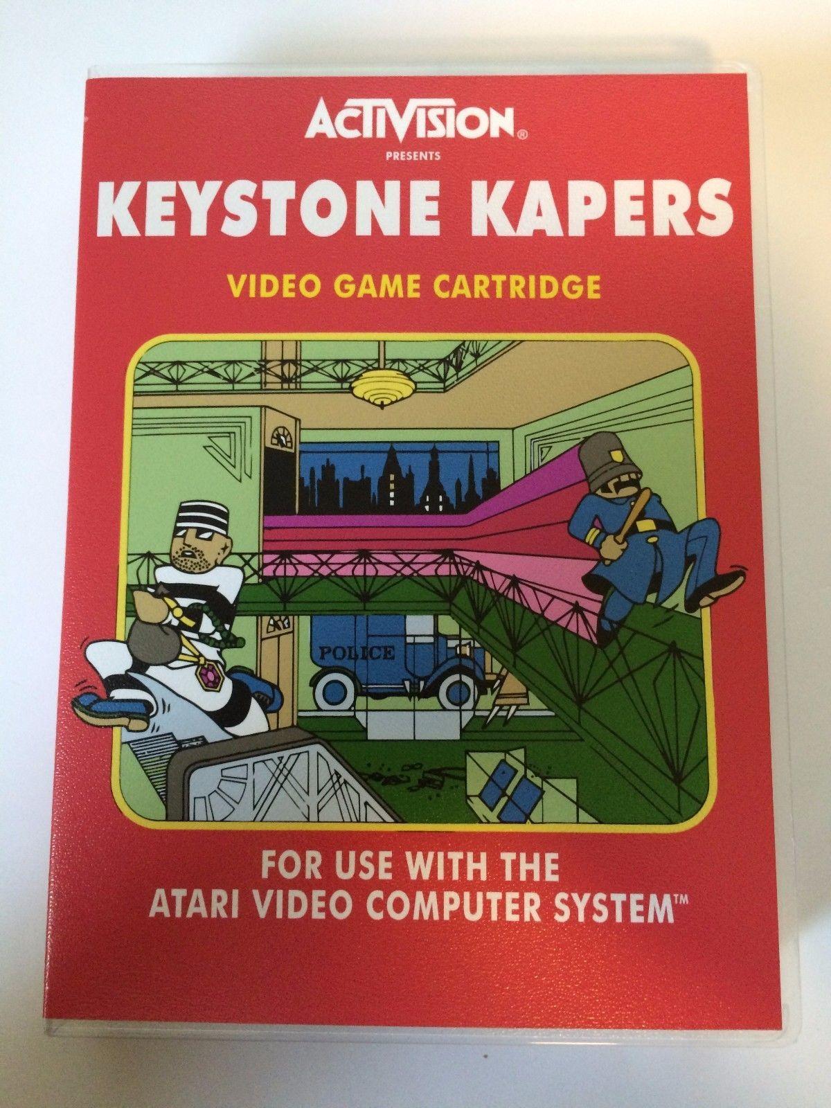 Keystone Kapers - Atari 2600 - Replacement Case - No Game