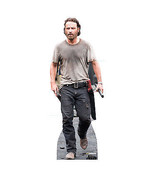 RICK GRIMES ANDREW LINCOLN WALKING DEAD LIFESIZE CARDBOARD STANDUP STAND... - $39.95