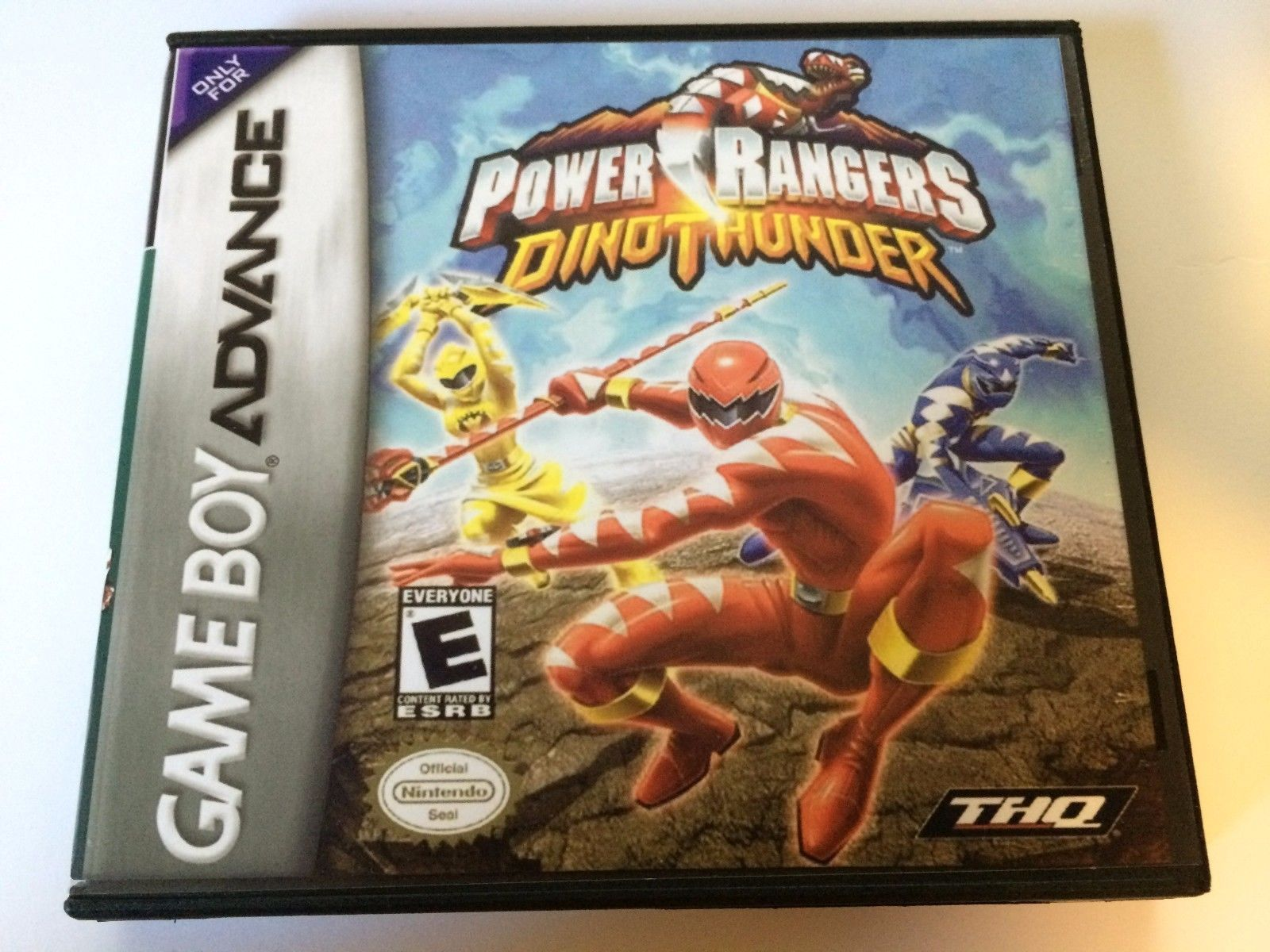 Power Rangers Dino Thunder - GBA - Replacement Case - No Game