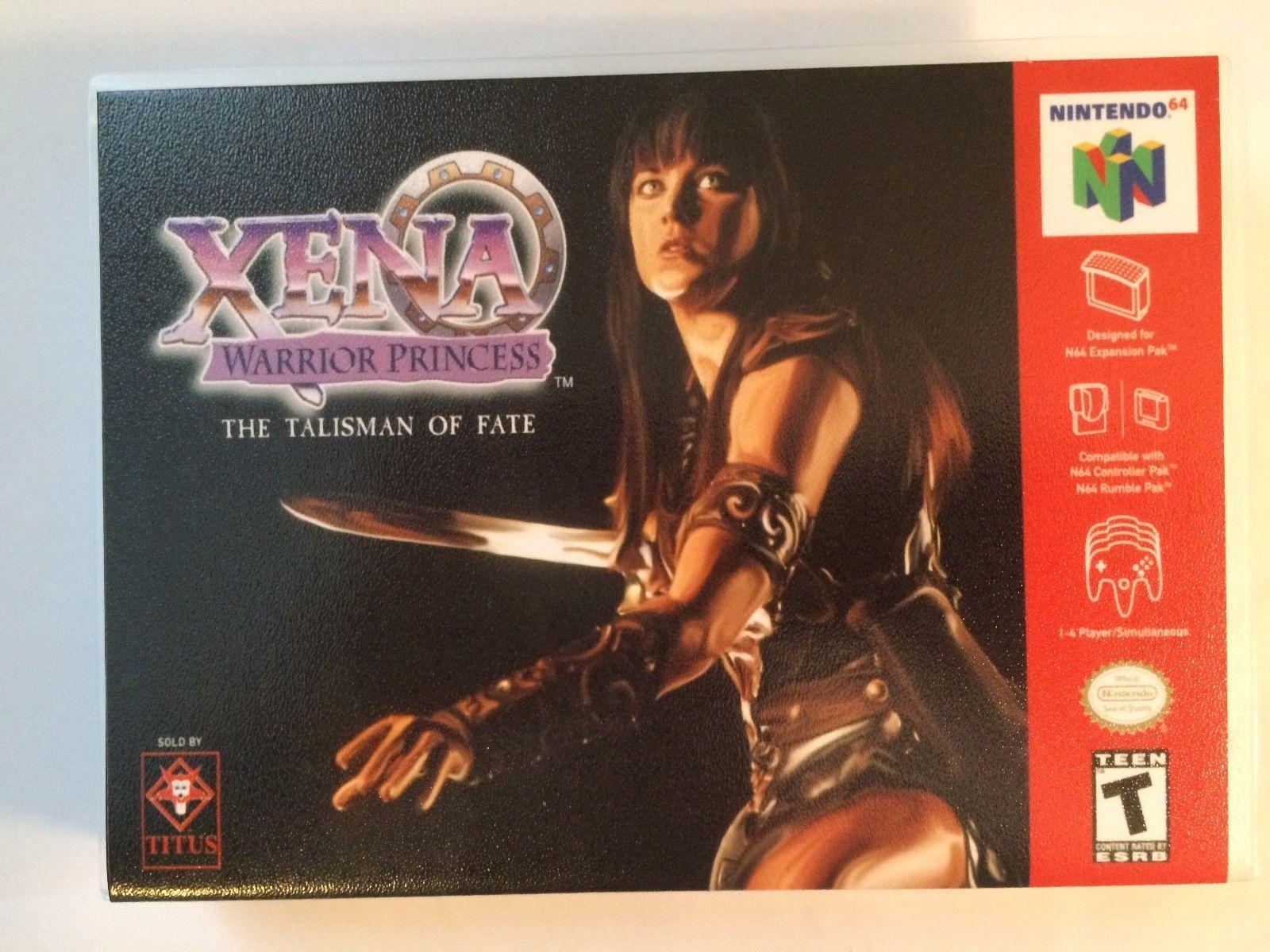 Xena Warrior Princess - Nintendo 64 - Replacement Case - No Game