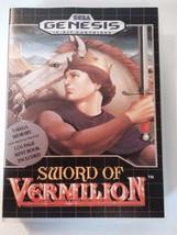 Sword of Vermilion - Sega Genesis - Replacement Case - No Game - $7.91