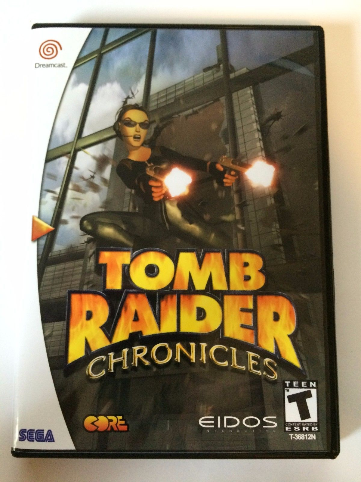 Tomb Raider Chronicles - Sega Dreamcast - Replacement Case - No Game