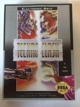 Techno Clash - Sega Genesis - Replacement Case - No Game - $7.91