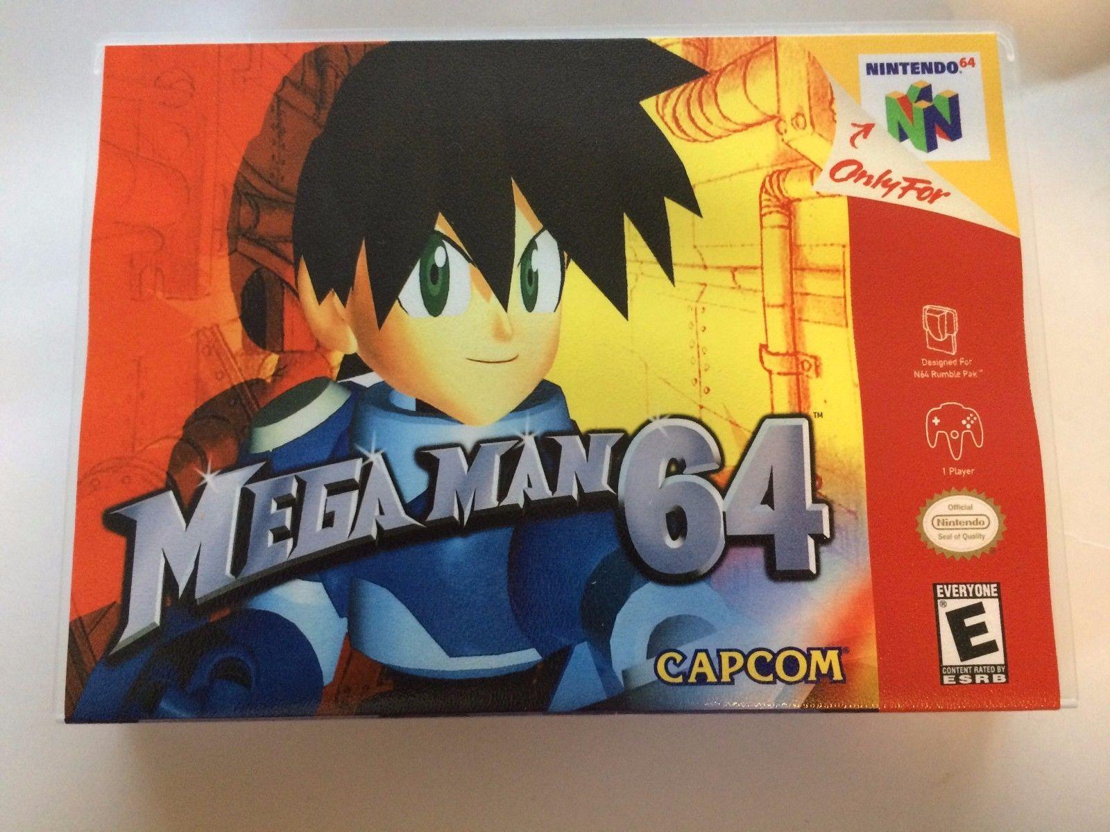 Mega Man 64 - Nintendo 64 - Replacement Case - No Game