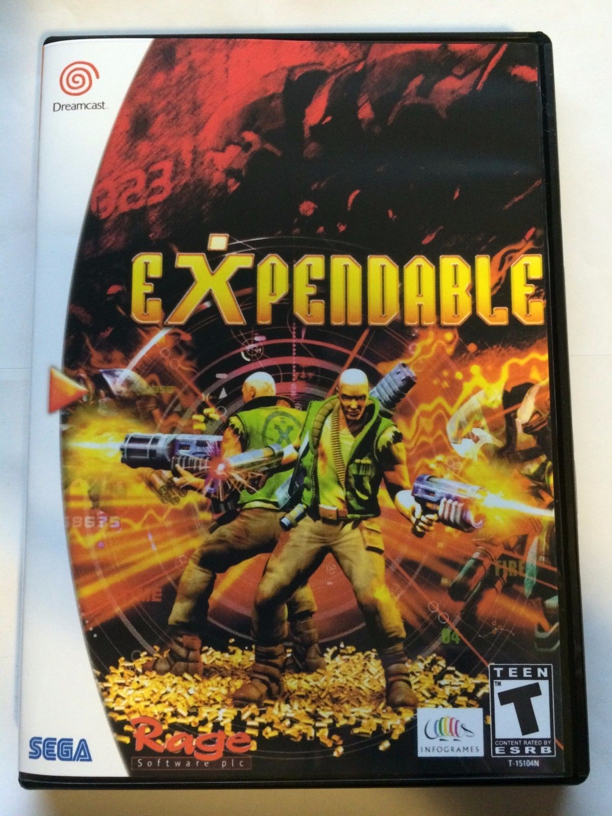 Expendable - Sega Dreamcast - Replacement Case - No Game