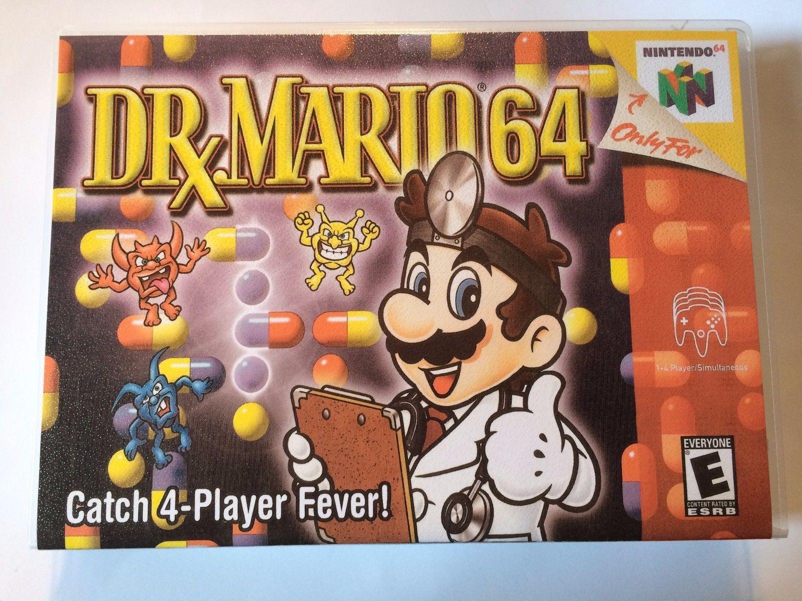 Dr. Mario - Nintendo 64 - Replacement Case - No Game