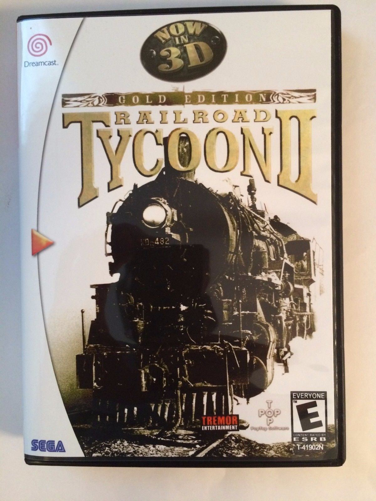 Railroad Tycoon II - Sega Dreamcast - Replacement Case - No Game