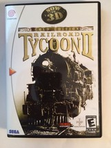 Railroad Tycoon II - Sega Dreamcast - Replacement Case - No Game - $7.91
