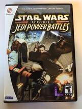 Star Wars Jedi Power Battles - Sega Dreamcast - Replacement Case - No Game - $7.91